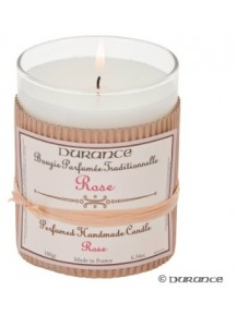 Handcrafted candle - Rose