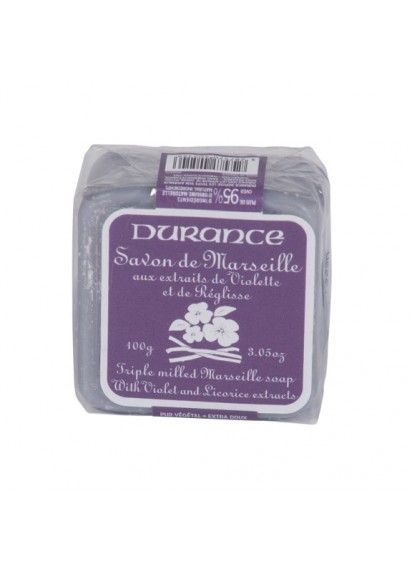 100gr Soap Square - Violet and Licorice Extract